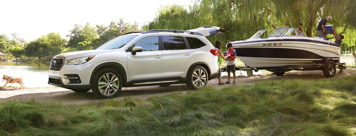 The All New 2019 Subaru Ascent Suv Newroads Subaru Newmarket