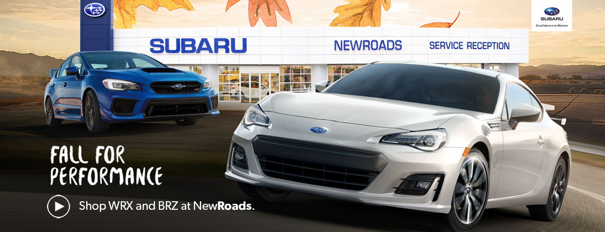 Subaru WRX and BRZ in Newmarket