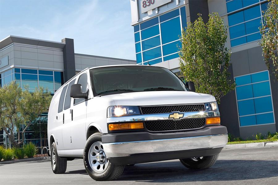 Chevrolet Commercial Cargo Van Ontario lease