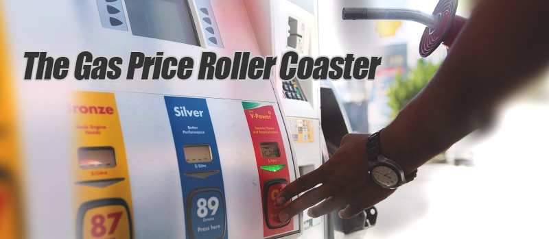 The Gas Price Roller Coaster