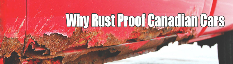 Why Rust Proof Canadian Cars