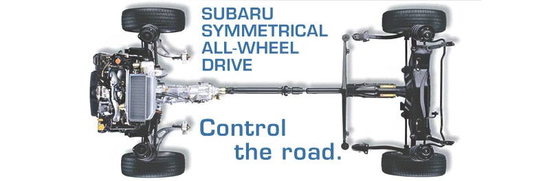 Learn about Subaru Symmetrical All-Wheel Drive AWD