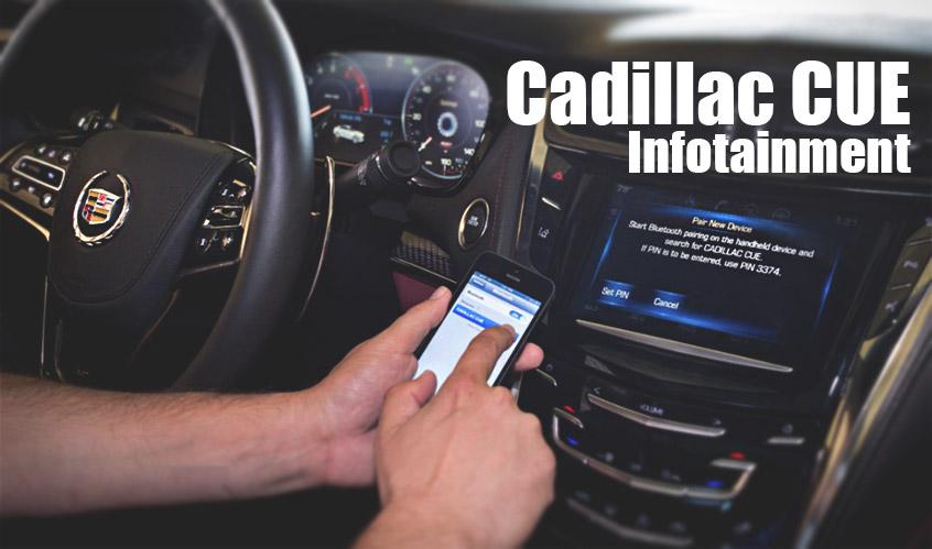 Cadillac CUE Infotainment Technology