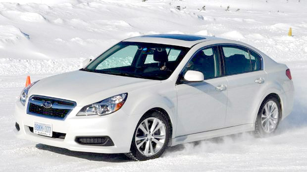 subaru goes circles around snow competitors. Black Bedroom Furniture Sets. Home Design Ideas