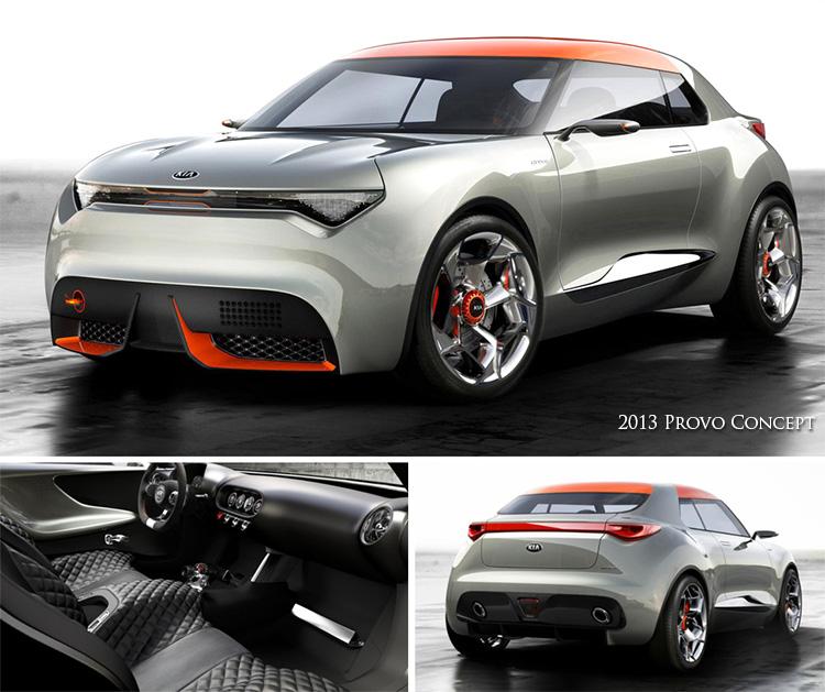 The Sexy 2013 Kia Provo Concept