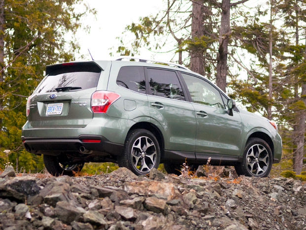 Previewing The Subaru Forester Xt