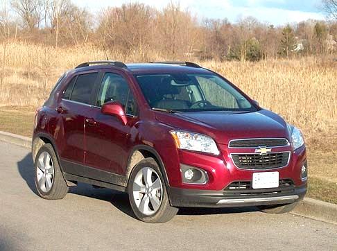 2013 Chevrolet Trax Review Toronto Sun
