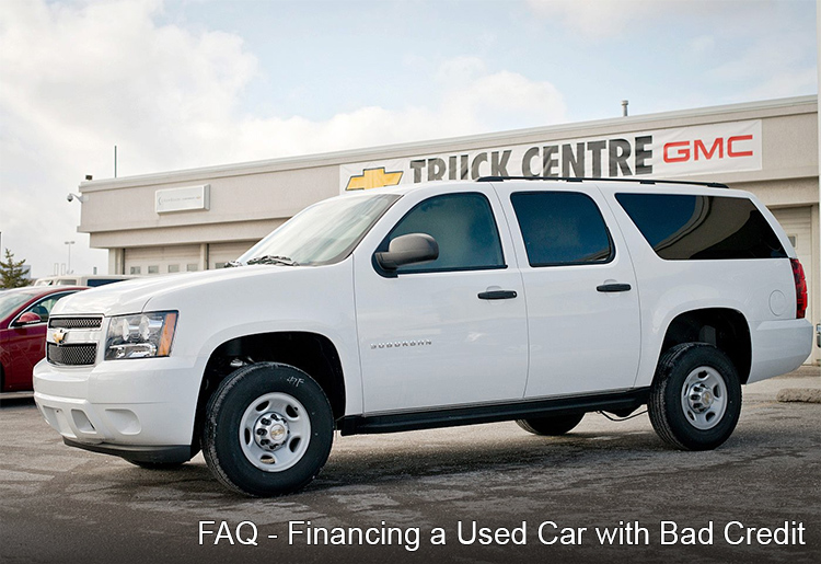 Bad Credit Car Loan Financing FAQ