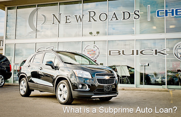 What is a subprime auto loan?