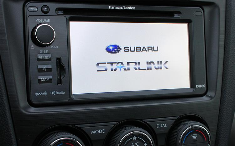 Subaru Starlink Technology