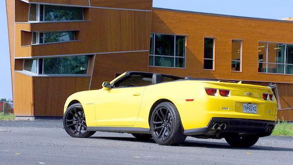 2013 Chevrolet Camaro ZL1 Convertible Review