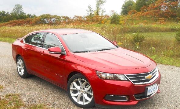 2014 Chevrolet Impala Review Toronto Sun