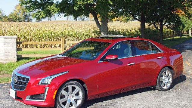 2014 Cadillac CTS Photo Review