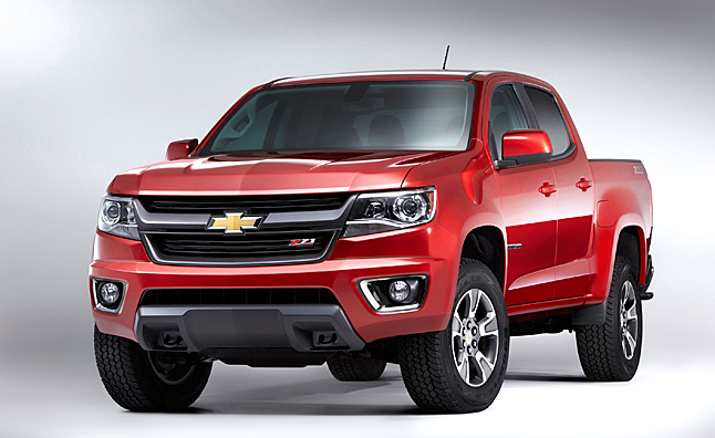 2015 Chevrolet Colorado Preview Photo