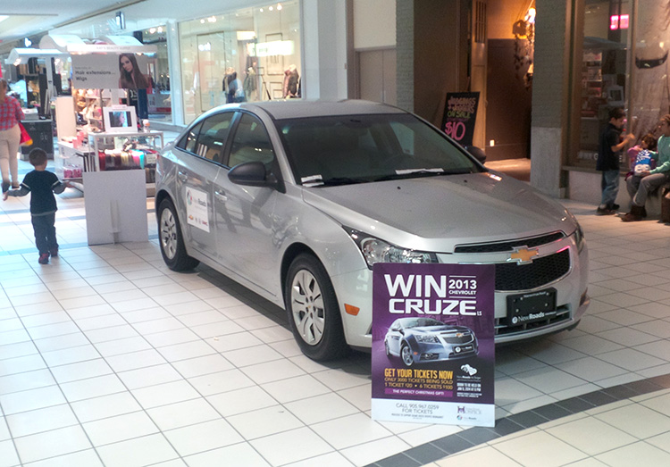 how to win a car in canada