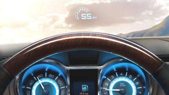 Head-up Displays (HUDs) | 2014 Buick LaCrosse
