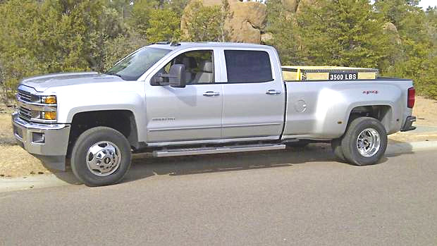 2015 Chevy Silverado Duramax Pickup Truck vs competition