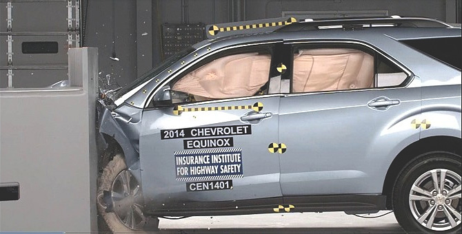 Chevrolet Equinox GMC Terrain earn Top Safety Pick Ratings