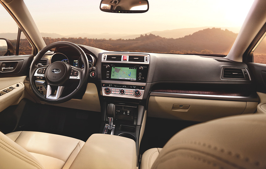 2015 Subaru Outback Review Driving