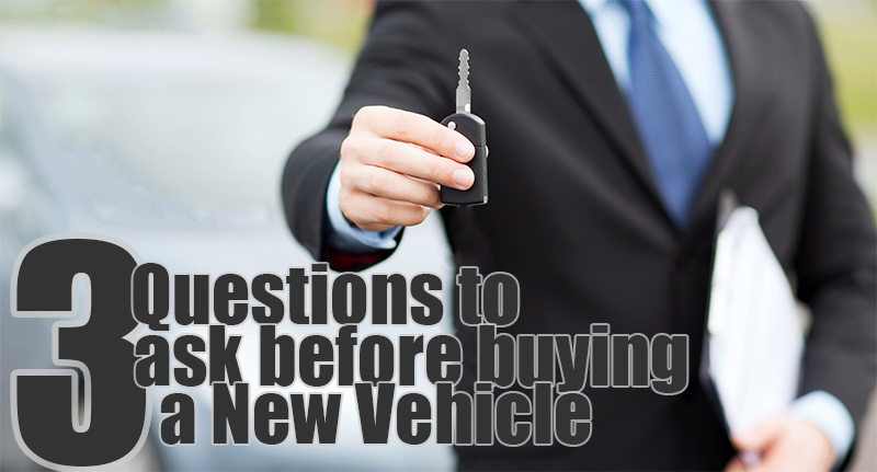 3 questions you should ask yourself before buying a new vehicle. Black Bedroom Furniture Sets. Home Design Ideas