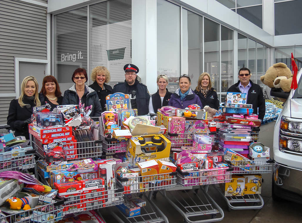 2014 York Region Toy Drive supporting YRP's Holiday Heroes ...