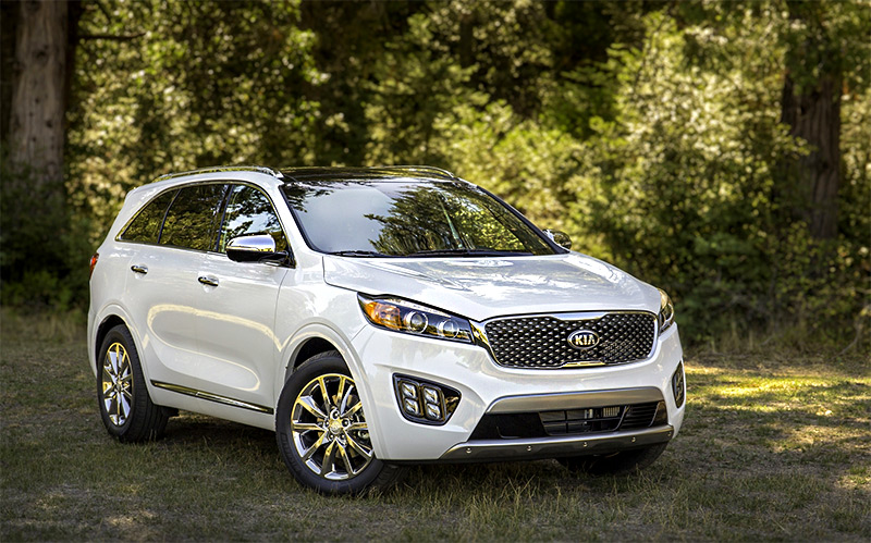 2016 Kia Sorento Earns IIHS Top Safety Marks