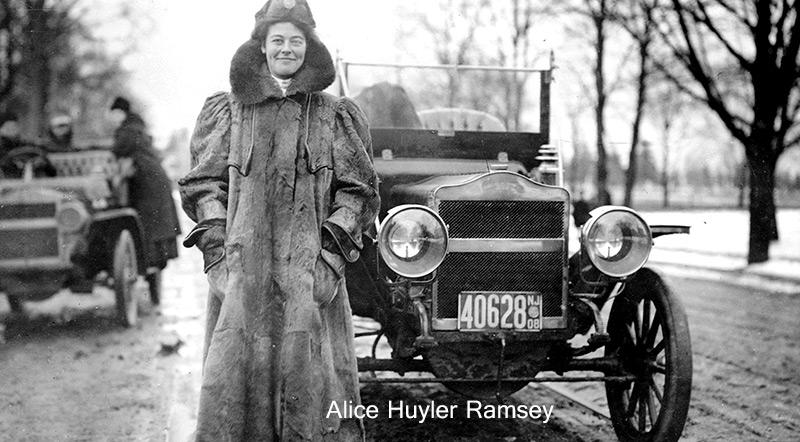 Alice Huyler Ramsey photo