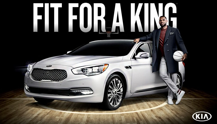 Lebron James - Kia K900