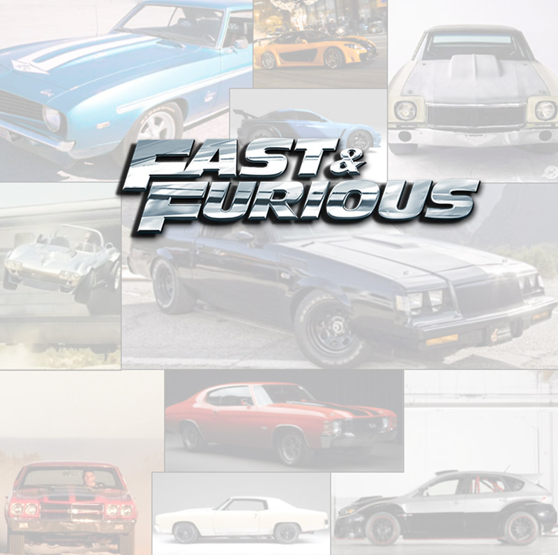 Notable Cars from The Fast and Furious