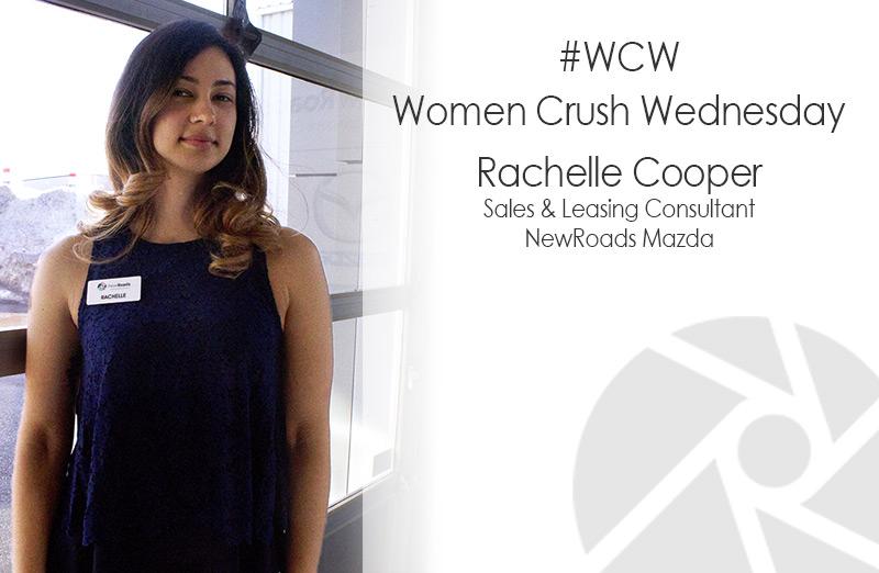 NewRoads Women Crush Wednesday: Rachelle Cooper
