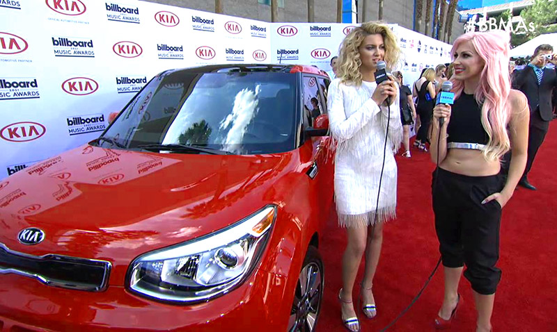 Tori Kelly, Kia at the BBMAs photo