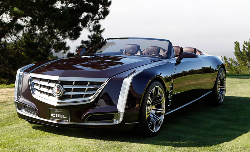 Cadillac Ciel Concept + Entourage