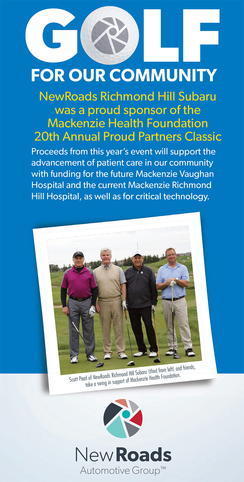 Mackenzie Health Foundation Proud Partners Classic Golf