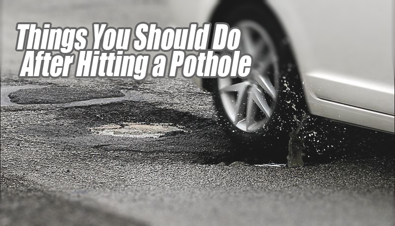 bubble on tire cause of pothole how to avoid