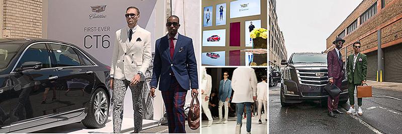 Cadillac + New York Fashion Week: Men's