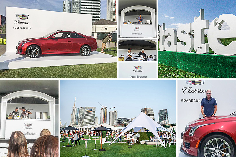Cadillac at the Taste of Toronto photos