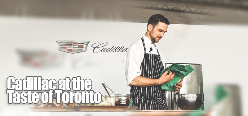 Cadillac at the Taste of Toronto