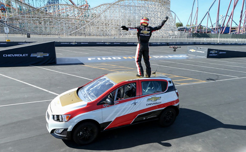 Chevrolet World Record at Pan Am Games