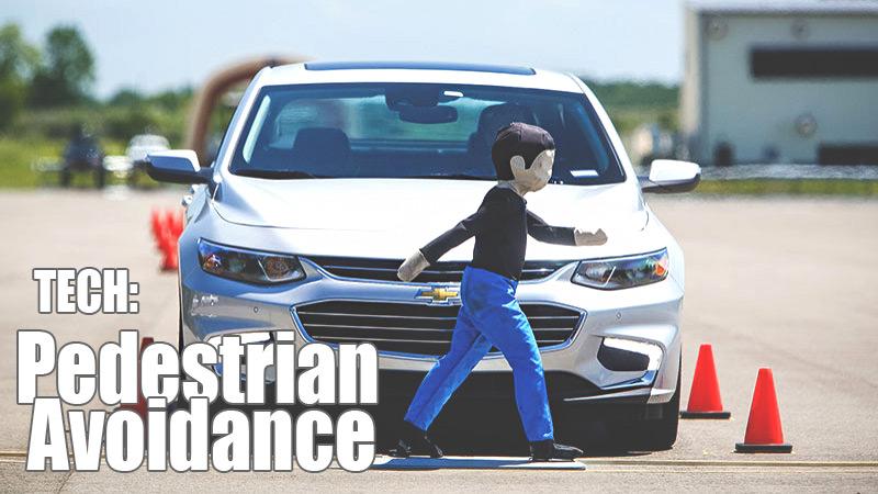 GM pedestrian avoidance technology