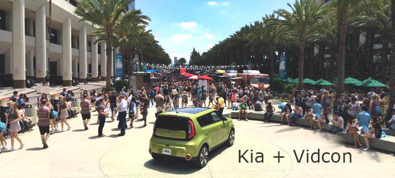 Kia + Vidcon