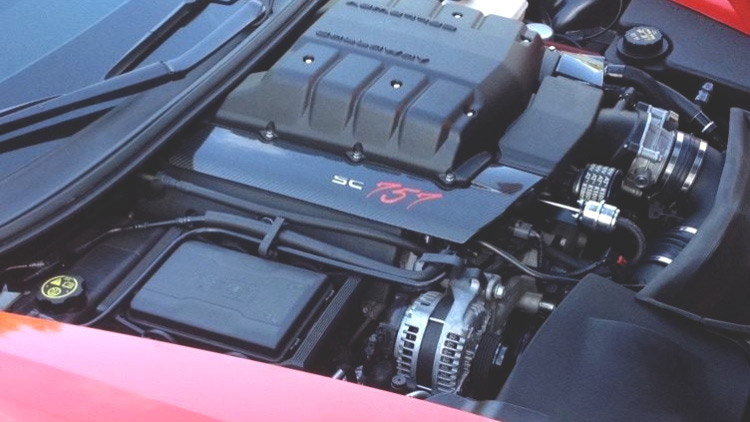 Lingenfelter Corvette Z06 over 700 hp with 757