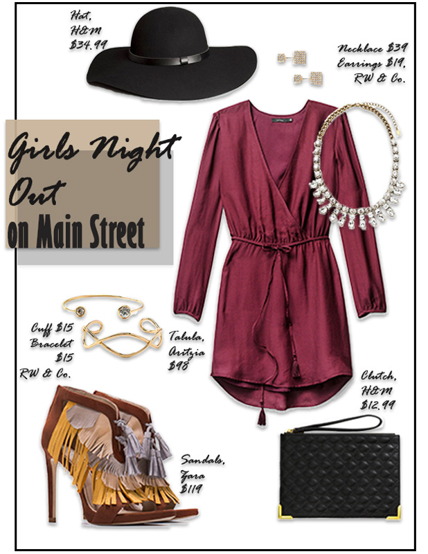 Girls Night Out on Main Street