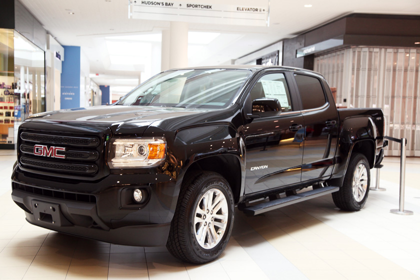 GMC Canyon Guessing Game at Upper Canada Mall