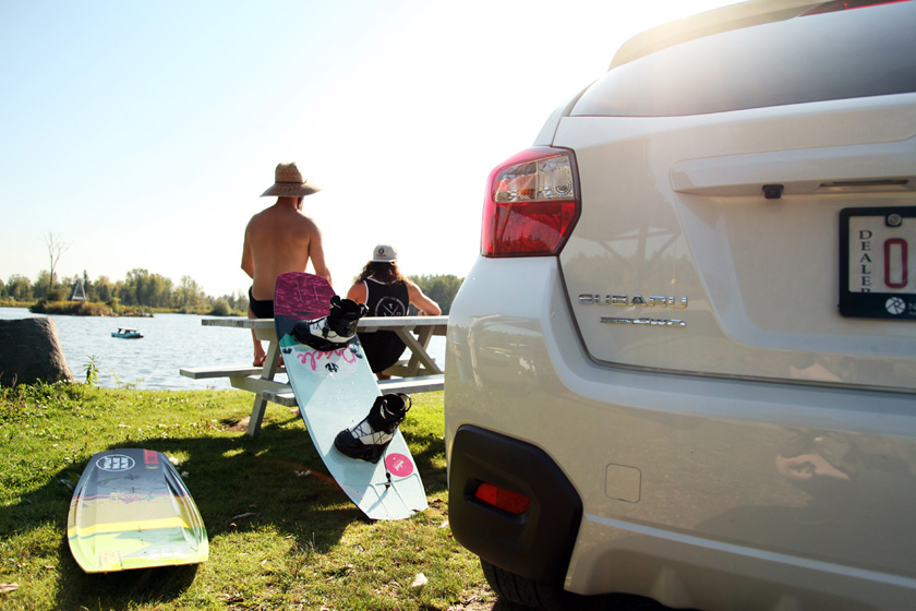 Subaru XV Wake boarding