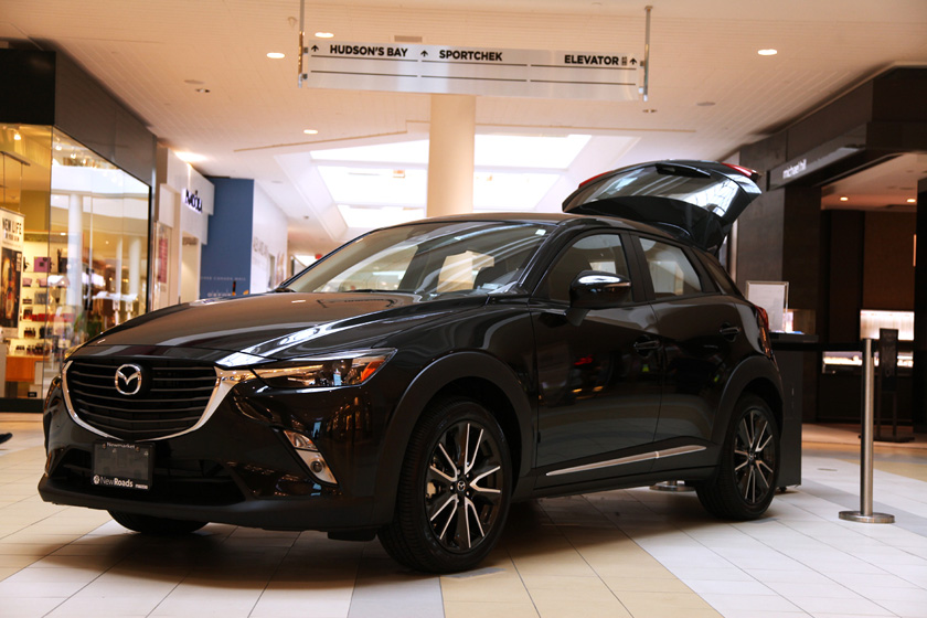 Mazda CX-3 at Upper Canada Mall