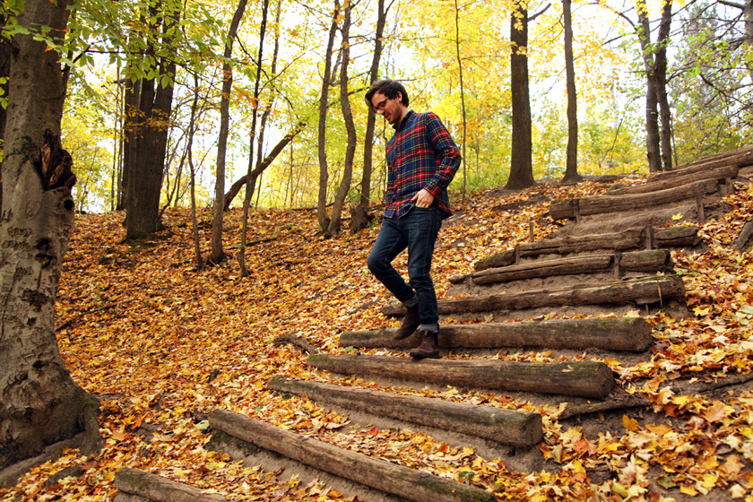 99 Steps - Thornton Bales Conservation Area Fall photo