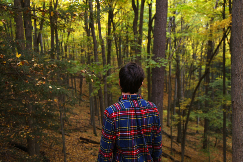October walk in the  Oak Ridges Moraine