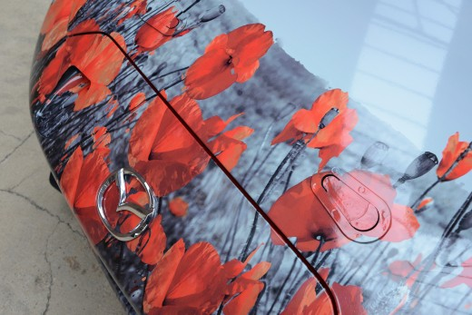 Mazda MX-5 Poppy Art Car