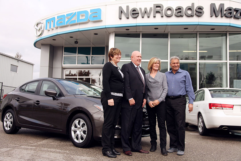 Doane House Hospice Winner at NewRoads Mazda