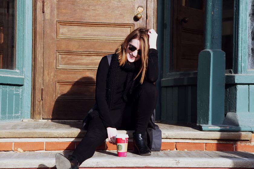 Starbucks coffee time in Kleinburg, Ontario
